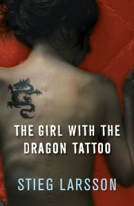 Cover of The Girl with the Dragon Tattoo. Photo: suze.co.uk