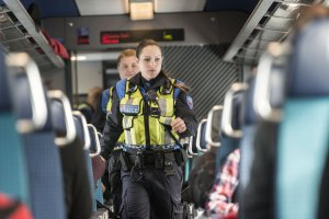 SBB Transport Police. Photo: Keystone