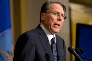 NRA head Wayne LaPierre, Image source: salon.com