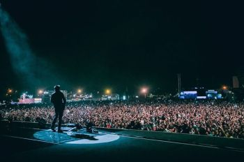 Muse on the main stage! Photo: ©Arlindo Camacho NOS ALIVE