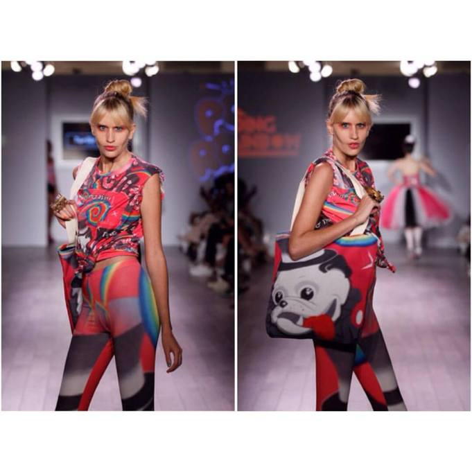 Designer: Tumbler & Tipsy by Michael Kuluva. Model: Kate Kalinowski