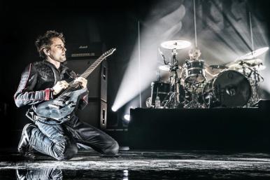 Matt Bellamy at Musilac 2015. Photo: muse.mu./Hans-Peter van Velthoven