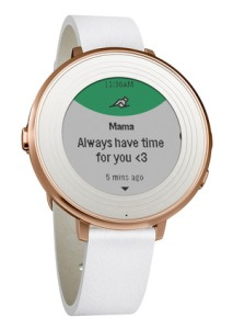 The rose gold Pebble Time Round Photo: Pebble