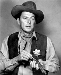 Former President Ronald Reagan in his days as an actor. Photo: nbcnews.com