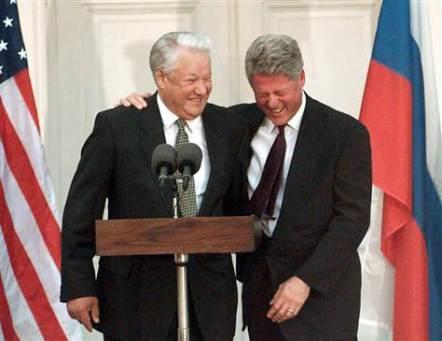 Boris Ladsin with his American counterpart, Bill
