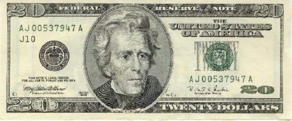 Jackson. A poor man's Benjamin Franklin. Literally. Photo: cointalk.com