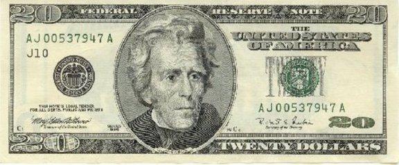 Jackson. A poor man's Benjamin Franklin. Literally. Photo: cointalk.com