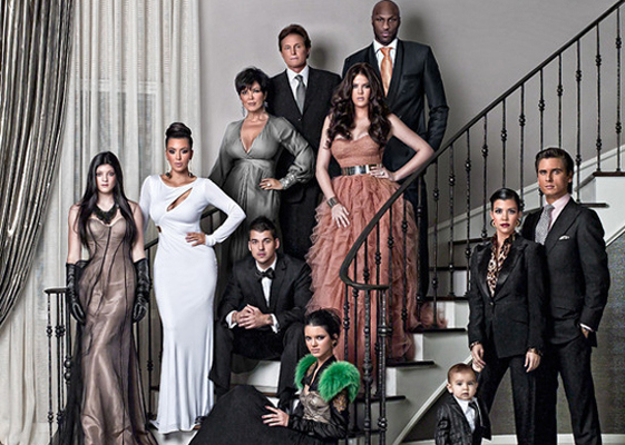 The Kardashian brood in their natural habitat. Photo: vagabomb.com