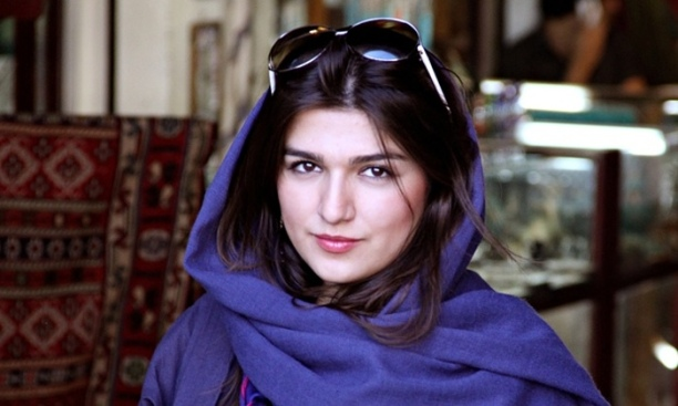 Goncheh Ghavami is a British-Iranian law graduate (SOAS, University of London) who was held in solitary confinement in Evin Prison for protesting for equal access to sporting events in Iran in July 22, 2014. Photo: AP