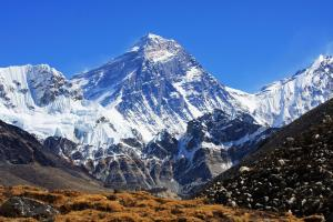 Mt. Everest as seen from Gokyo. Photo: buddhalandtreks.com