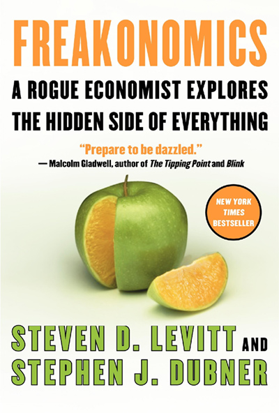 Cover of Freakonomics. Photo: firstshowing.net