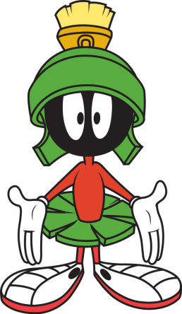 Insert mandatory Marvin the Martian reference here to cool the tension. Photo: Wikipedia.org