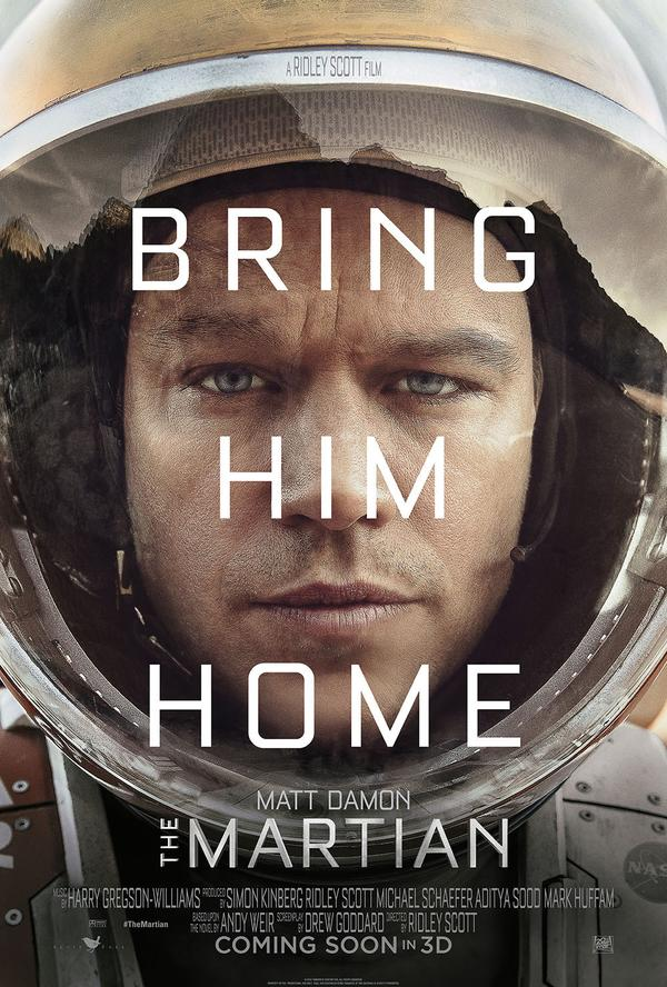 Film Friday The Martian Review The Update