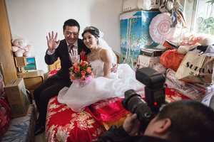 A traditional Chinese wedding. Photo: npr.org