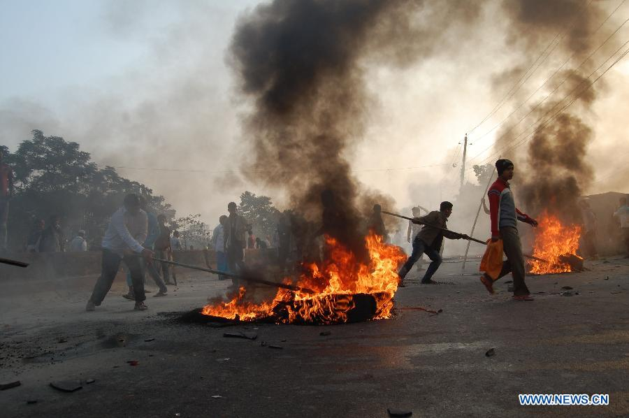 jamaat supporters hartal, news.xinhuanet.com