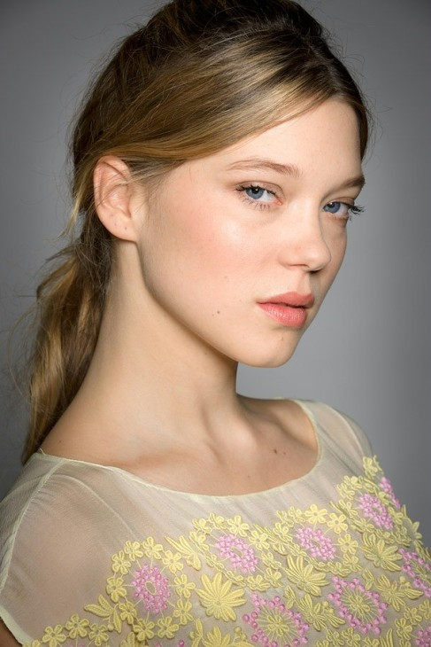 Lea Seydoux became famous when she pretended to be a 15 year old who had sex on camera. That's for the pervs out there. Photo: celebritiesexercise.com