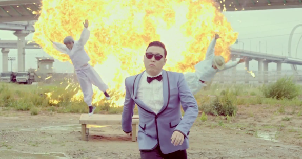 PSY. The Korean James Bond, or Jae Bon-Do. Photo: reddit.com