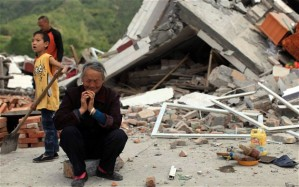 The Sichuan earthquake, a devastating natural disaster which loosened the one-child policy, due to a disproportionate amount of the victims being children. Photo: telegraph.co.uk