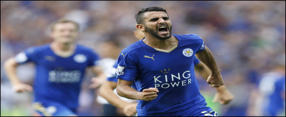 Mahrez has been involved in more goals than any other Premier League player this season (20 - 13 goals, 7 assists)