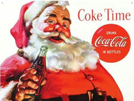 santa coke, ivarfjeld.com