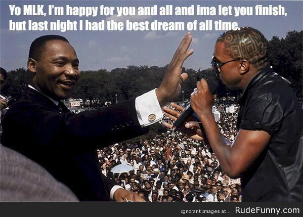 Kanye MLK, rudefunny.com