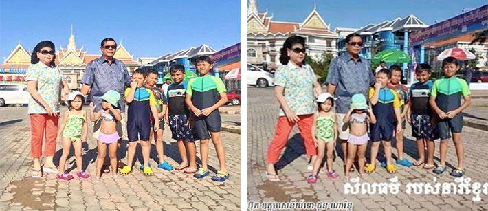 hun sen wife, cambodiadaily.com